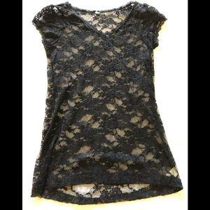 🌻3/$25🌻 Black Lace top
